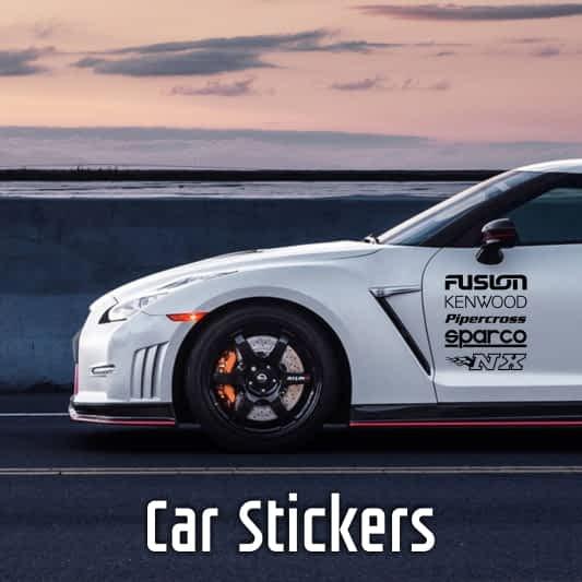 mobile car sticker